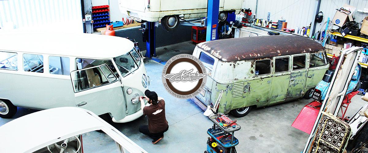 kens customs, bespoke automotive interiors