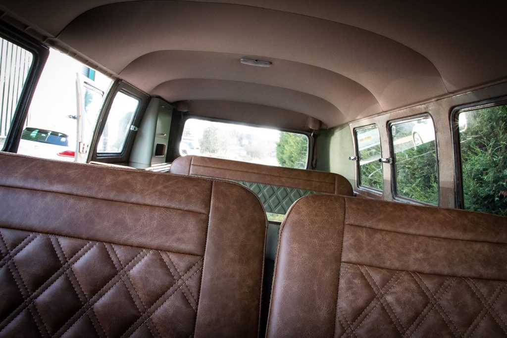 vw split bus kens customs auto upholstery restoration
