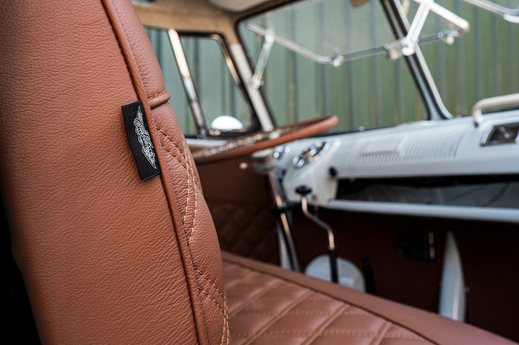 kens customs vw samba upholstery