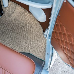 kens customs vw samba upholstery